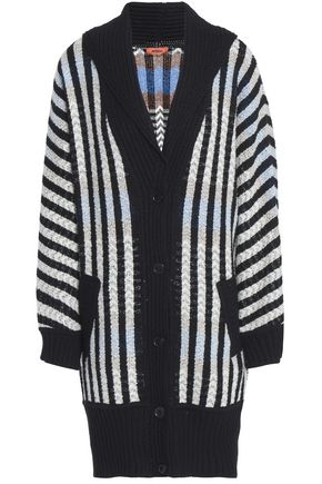 MISSONI Striped wool-blend jacquard sweater