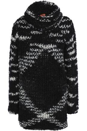 MISSONI Marled bouclé-knit turtleneck sweater