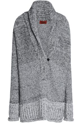 MISSONI Mélange wool-blend knitted sweater