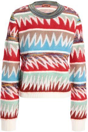 MISSONI Wool-blend jacquard sweater