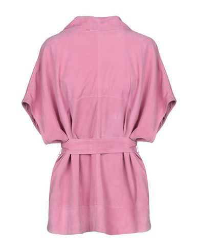 Фото 2 - Женский пиджак  розового цвета