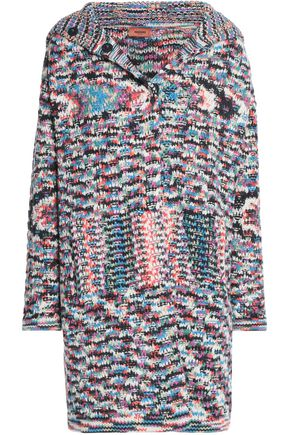MISSONI Crochet-knit cashmere coat