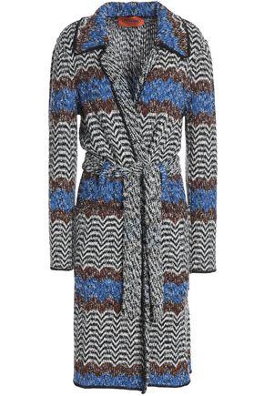 MISSONI Reversible wool-blend bouclé kimono