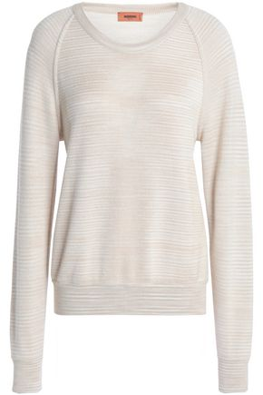 MISSONI Cashmere and silk-blend sweater