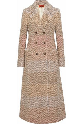 MISSONI Double-breasted bouclé wool-blend coat
