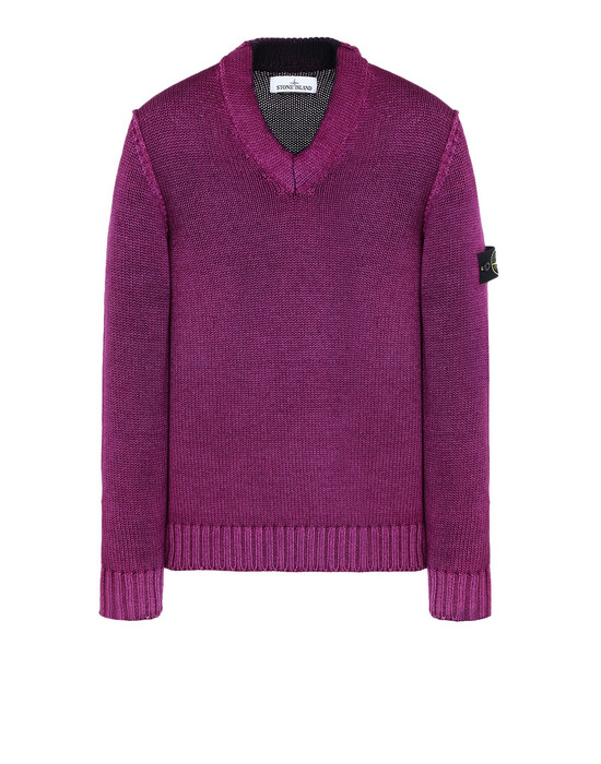 STONE ISLAND Sweater 592A8 FAST DYE + AIR BRUSH