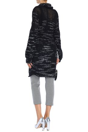 MISSONI Mélange open-knit cashmere-blend sweater