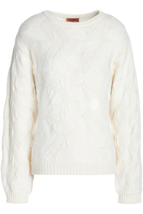 MISSONI Wool-blend jacquard sweater