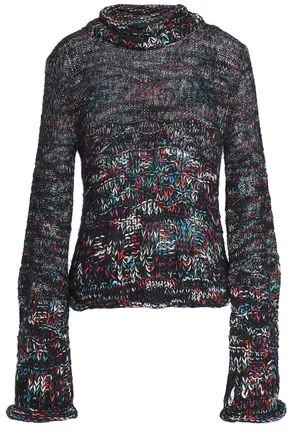 8fdcf183fceb58 MISSONI Open-knit cashmere-blend sweater ...
