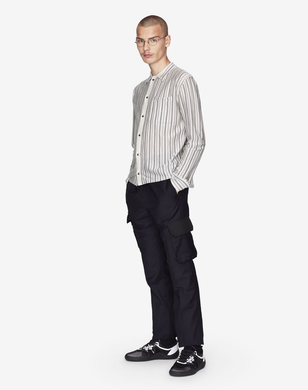 VERTICAL STRIPED SHIRT  - Lanvin