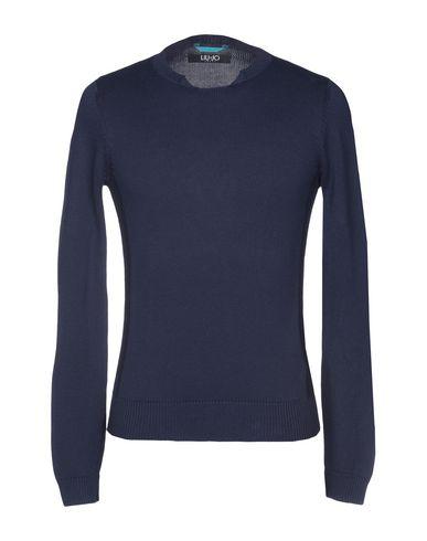 Фото - Мужской свитер LIU •JO MAN грифельно-синего цвета