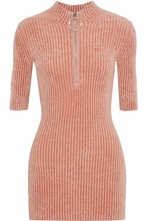 EMILIO PUCCI Crystal-embellished chenille sweater