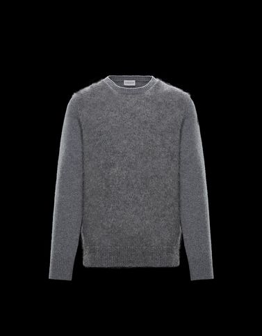 MONCLER CREWNECK - Cashmere jumpers - men