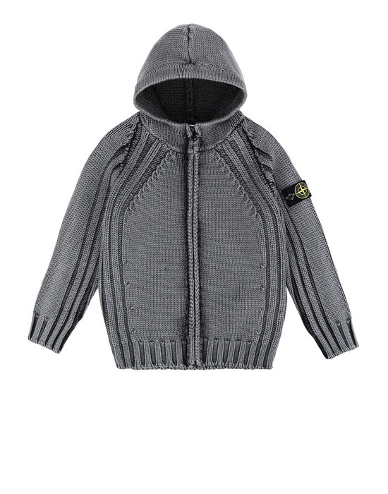 STONE ISLAND KIDS Sweater 523D4 FROST FINISH