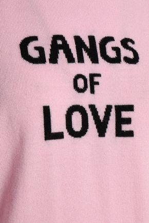 J BRAND Intarsia merino wool sweater