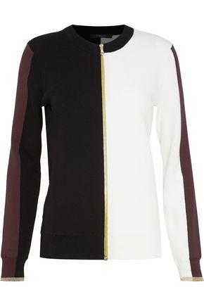 DEREK LAM Color-block cotton cardigan