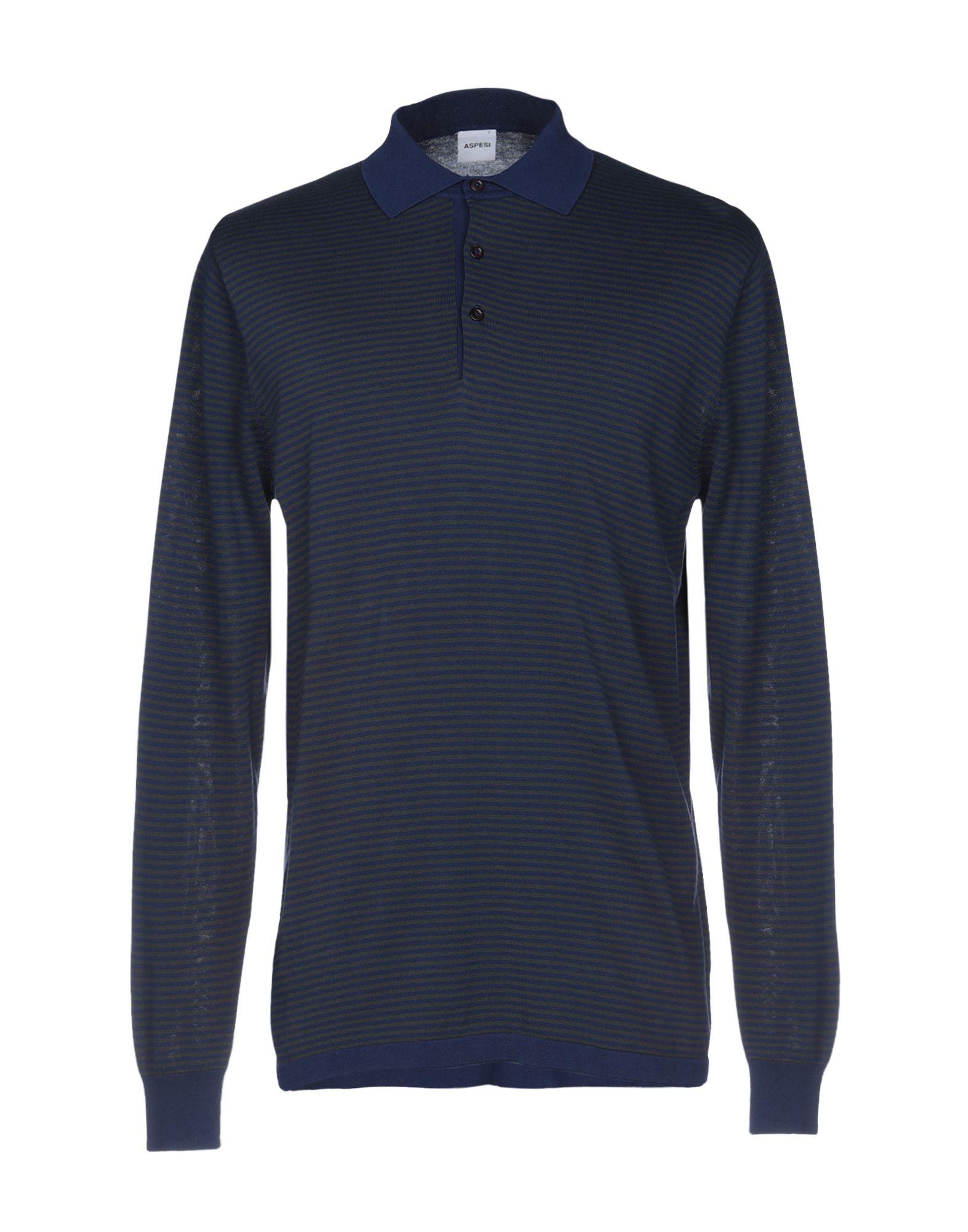 ASPESI Свитер мужской свитер в полоску 52