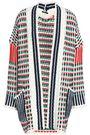 RAOUL Cotton-blend jacquard cardigan