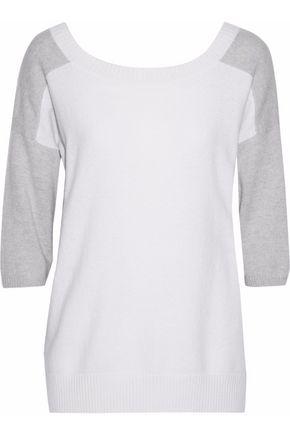 MAX MARA Zodiaco two-tone cashmere sweater