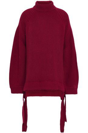 ELLERY Ribbed merino wool-blend turtleneck sweater