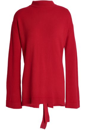 ELLERY Open-back merino wool sweater
