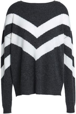 CHARLI Carnot intarsia cashmere sweater
