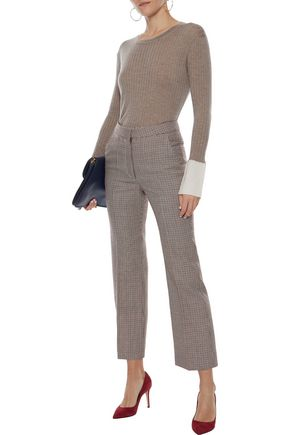 N.PEAL Ribbed cashmere sweater