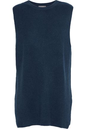 N.PEAL Ribbed cashmere top