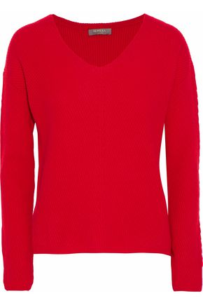 69820096756 N.PEAL Ribbed cashmere sweater