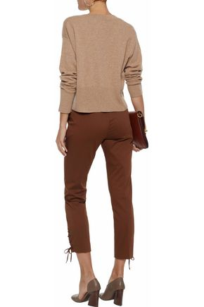 N.PEAL Cropped cashmere sweater
