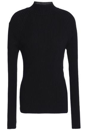 PACO RABANNE Ribbed merino wool sweater