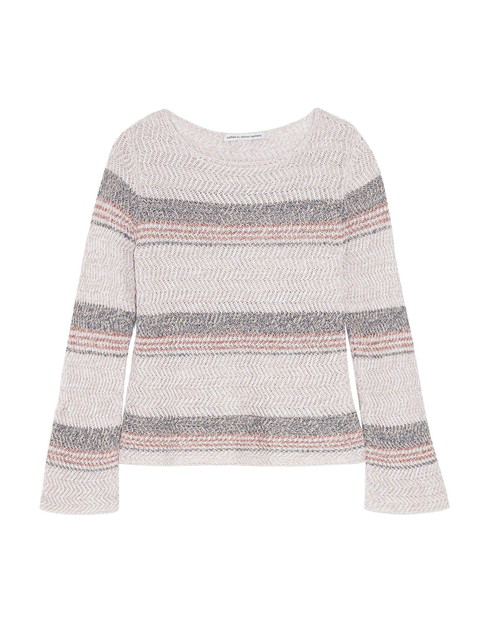 COTTON by AUTUMN CASHMERE Свитер autumn cashmere свитер