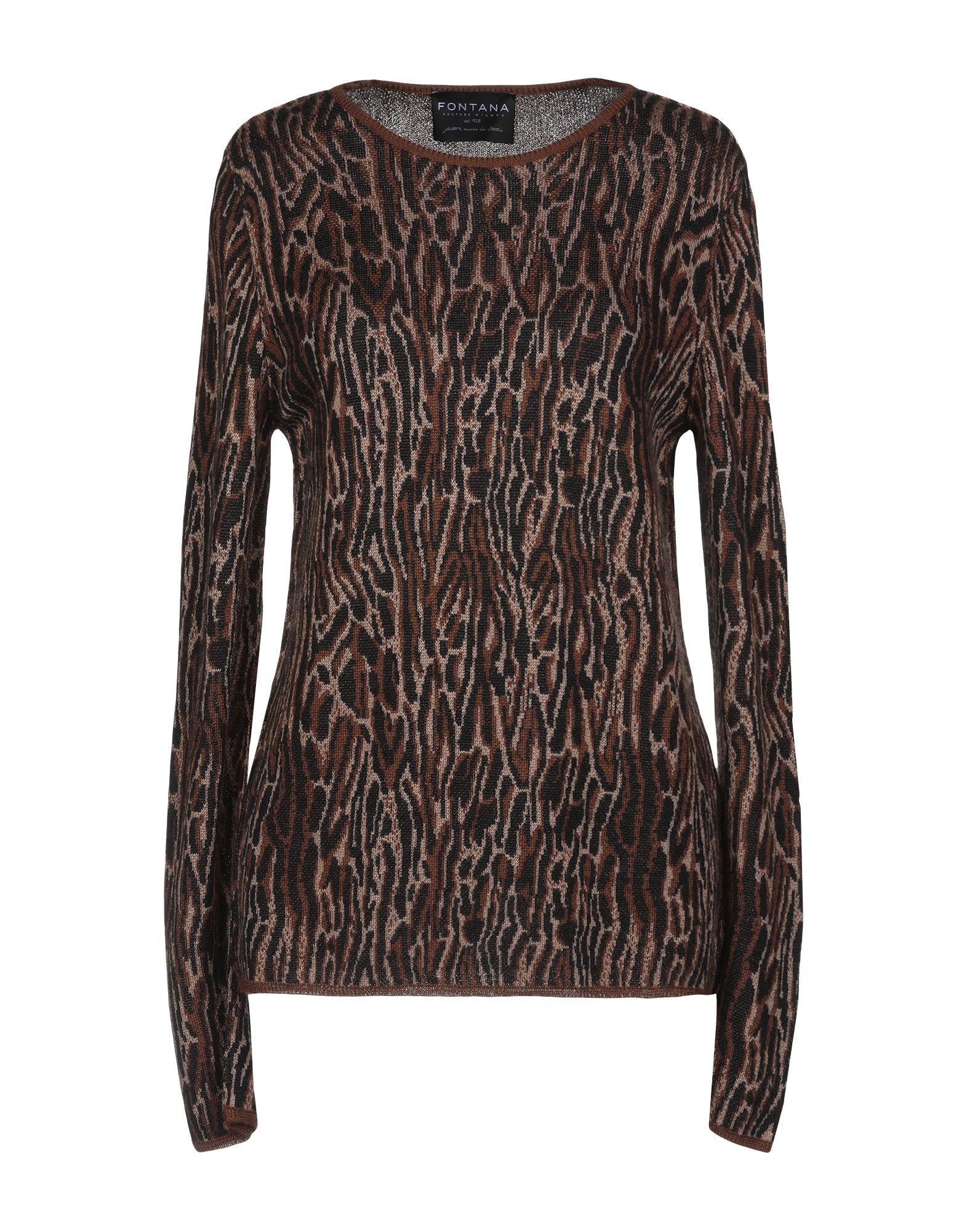 FONTANA COUTURE Свитер camouflage couture свитер