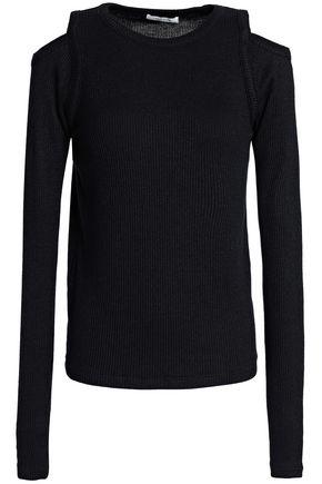 RAG & BONE Rosalind cold-shoulder ribbed-knit sweater