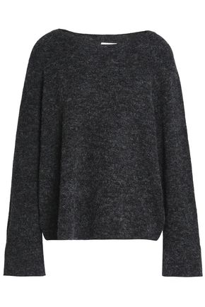 CHARLI Bethanie mélange brushed alpaca-blend sweater