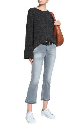 CHARLI Mélange alpaca-blend sweater