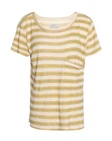 Купить Женскую футболку  бежевого цвета