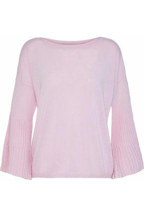 AUTUMN CASHMERE Fluted cashmere sweater