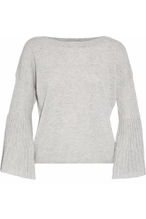AUTUMN CASHMERE Fluted cashmere sweater