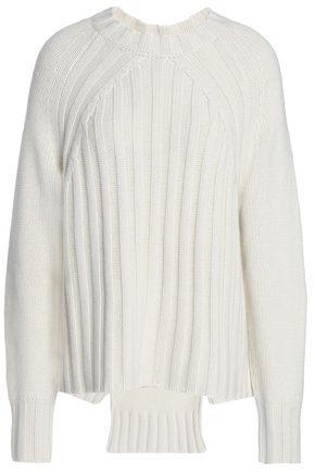 NILI LOTAN Ribbed cashmere sweater