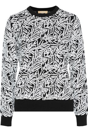 MICHAEL KORS COLLECTION Sequined cashmere sweater
