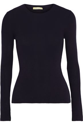 MICHAEL KORS COLLECTION Ribbed cashmere top