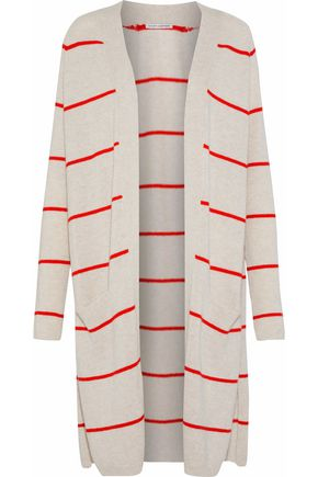 AUTUMN CASHMERE Striped cashmere cardigan
