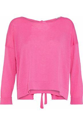 AUTUMN CASHMERE Tie-back cashmere sweater