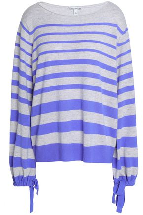 AUTUMN CASHMERE Striped cashmere sweater