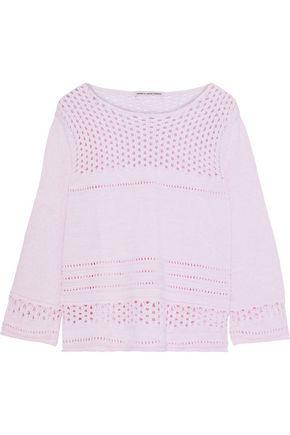 COTTON by AUTUMN CASHMERE Open-knit cotton sweater