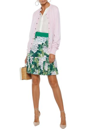 DOLCE & GABBANA Crystal-embellished cashmere cardigan