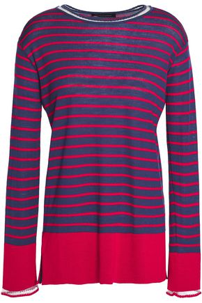 PIAZZA SEMPIONE Striped wool sweater