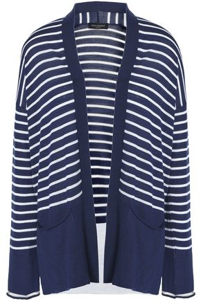 PIAZZA SEMPIONE Striped wool cardigan