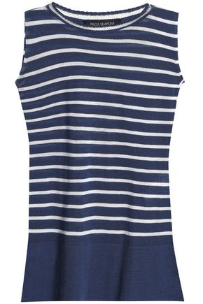 PIAZZA SEMPIONE Striped wool top